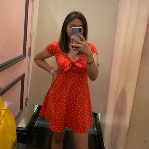 A cute pink dress